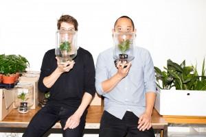 Daniel Sutjahjo & Joost van Uden, oprichters van Pikaplant